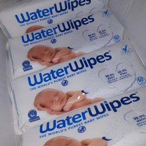 Other - 4 packs of unsealed brand new baby water wipes